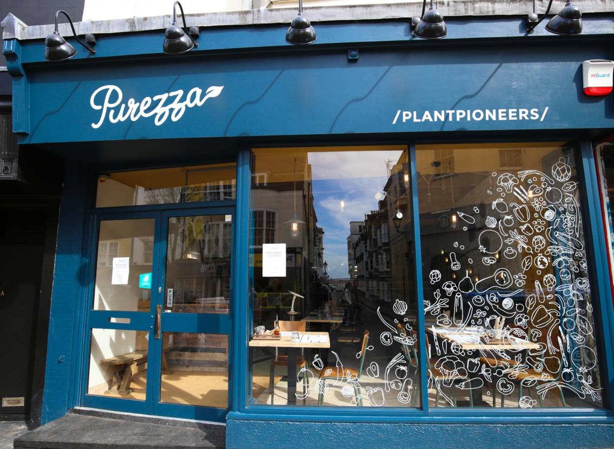Vegan Pizzeria with locations in London and Brighton will open a dairy free cheese factory.